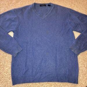 JOHN ASHFORD 100% cashmere V-neck sweater